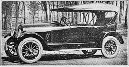 The Comet Six was introduce in 1917.