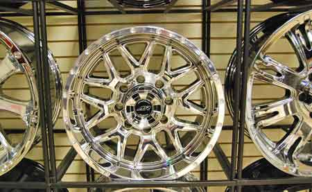 Toys Are Trucks includes a wide selection of PVD coated wheels in its massive inventory of truck accessories.