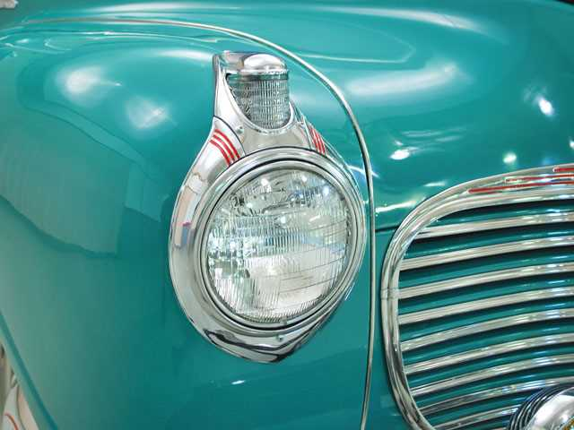 Old Plymouth Headlight : Plymouth special deluxe headlight view